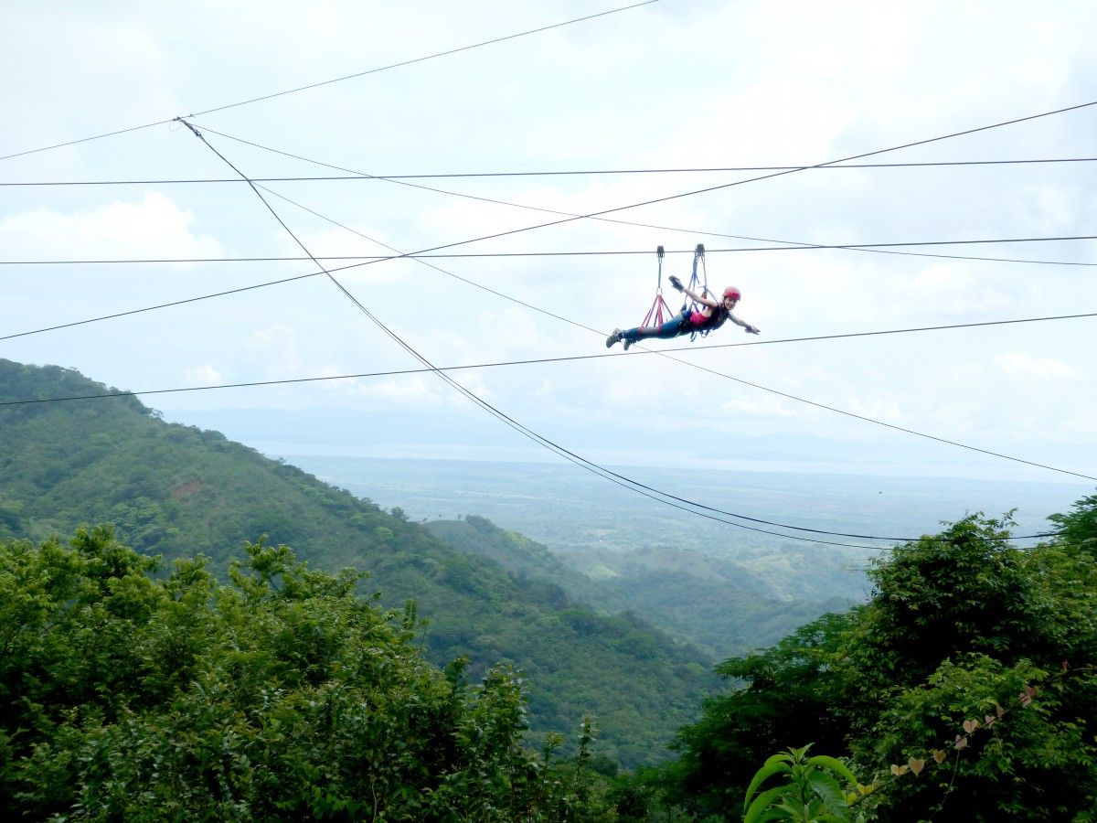 Adrenaline filled zip lining near Jaco, Costa Rica image 2