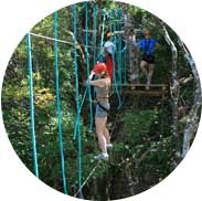 Mega Mix Adventure: Tarzan swing, rappelling, high ropes zip-lining, and other adrenaline-filled activities in one go image 6