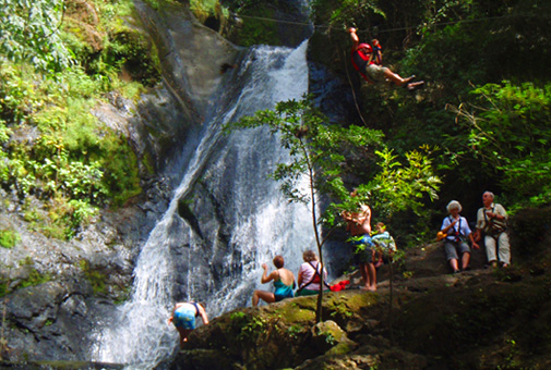 Mega Zip Line Over 11 WaterfallsCosta Rica tour image 6